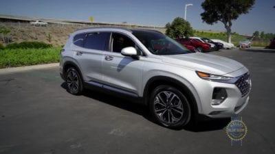 Midsize SUV - 2 Row: Hyundai Santa Fe