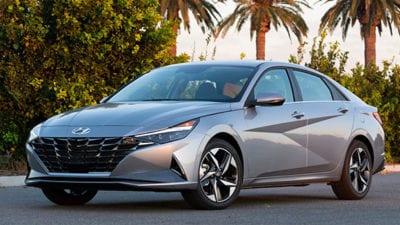 Compact Car: 2021 Hyundai Elantra