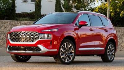 Midsize Two Row SUV: 2021 Hyundai Santa Fe