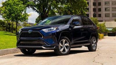 Compact SUV: 2021 Toyota RAV4