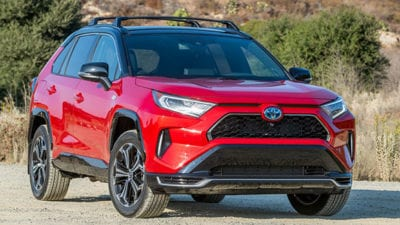 Plug-in Hybrid: 2021 Toyota RAV4 Prime