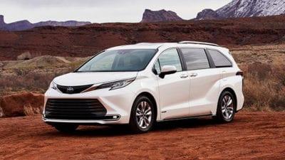 Minivan: 2021 Toyota Sienna