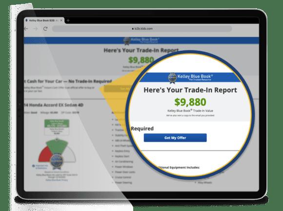 Trade-Advisor trade-in report