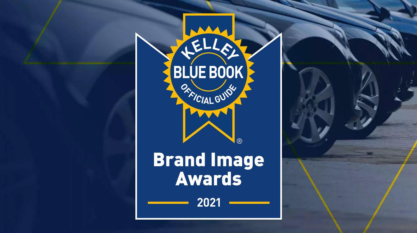 Kelley Blue Book Brand Image Awards 2021
