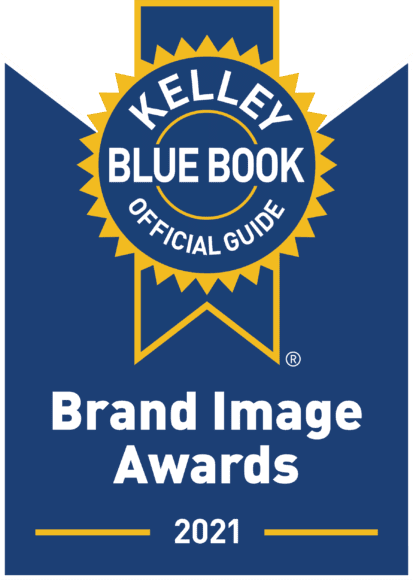 Kelley Blue Book Brand Image Awards 2021 logo